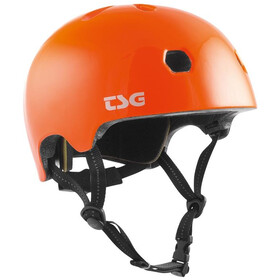 TSG Meta Solid Color Casque, gloss orange